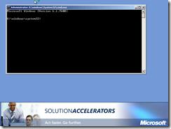 MDT 2010 - WinPE - Command Prompt - F8