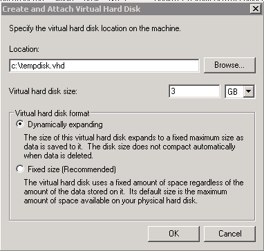 Convert  gho (Ghost) image to  vhd (Virtual Hard Disk