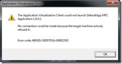 Softgrid Error 2A-0000274D