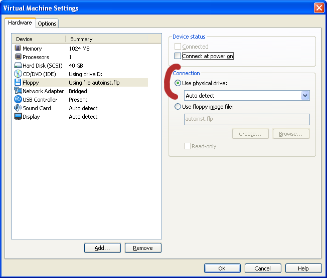 how to change cpuid in vmware workstation