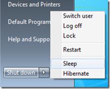 sleep feature available