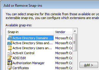 Missing App-V Management Console Snap-in