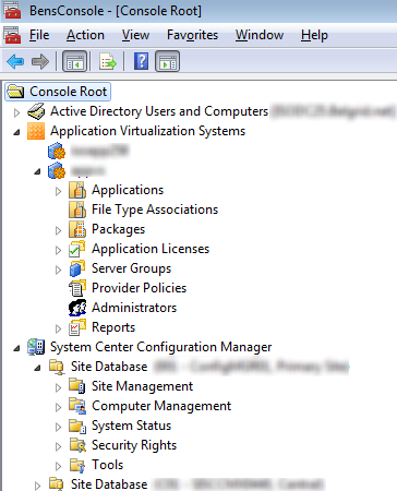 AppV Management Console Snap-in available again